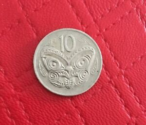 1980 NEW ZEALAND 10 CENT COIN CIRCULATED