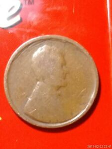 LINCOLN WHEAT DOUBLE ERROR NO WORDS OR DATE BUT HAS WHEATS & HEAD
