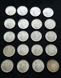 Click now to see the BUY IT NOW Price! ORIGINAL MORGAN ROLL UNC |  1896 SILVER DOLLAR  | 20 COINS | BU  VD.MR1896