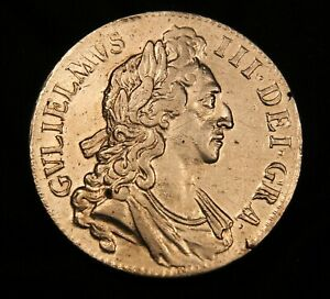 Click now to see the BUY IT NOW Price! 1696 GREAT BRITAIN EF SILVER CROWN KING WILLIAM III. OCTAVO.