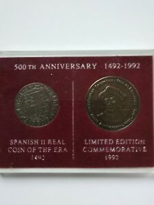 SALE   COIN SET   SPANISH   500TH ANNIVERSARY   1942   1992   NEW