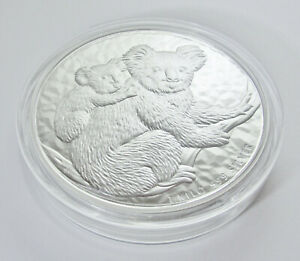 Click now to see the BUY IT NOW Price!  2008 PERTH MINT 1KG SILVER KOALA COIN