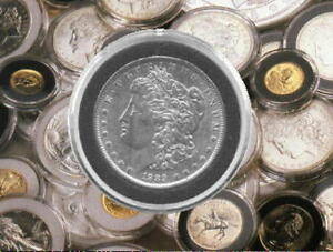 AIR TITE COIN PROTECTORS FOR ALL TRADE   LIBERTY   PEACE   MORGAN SILVER DOLLAR