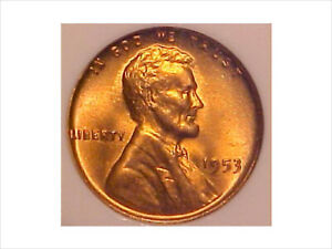 Click now to see the BUY IT NOW Price! 1953 NGC MS 67 RD MS67RD LINCOLN WHEAT CENT   NONE FINER   MAKE ME AN OFFER