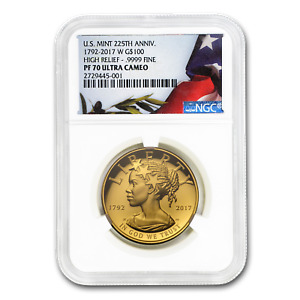 Click now to see the BUY IT NOW Price! 2017 HIGH RELIEF AMERICAN LIBERTY GOLD PF 70 NGC   SKU170346