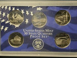 2005 U.S. MINT STATE QUARTERS PROOF SET