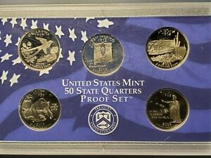 2008 U.S. MINT STATE QUARTERS PROOF SET
