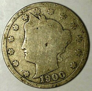 1900 P  5C LIBERTY HEAD NICKEL 18AA0916