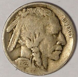 1923 P 5C BUFFALO NICKEL 17RR2510