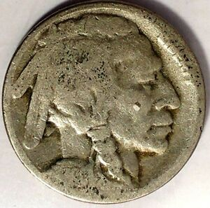 1920 S 5C BUFFALO NICKEL HS 6