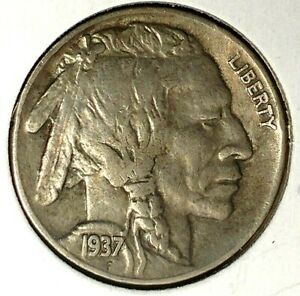 1937 P 5C BUFFALO NICKEL 17OOC1505 3 UNC