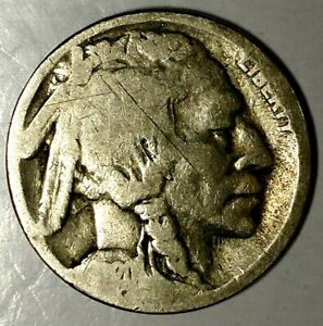 1920 S 5C BUFFALO NICKEL 19RO0414 ONLY 50 CENTS FOR SHIPPING