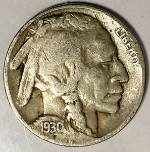 1930 P 5C BUFFALO NICKEL 18OCT1204 3