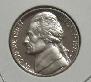 1975 S PROOF JEFFERSON NICKEL