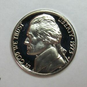 1973 S PROOF JEFFERSON NICKEL