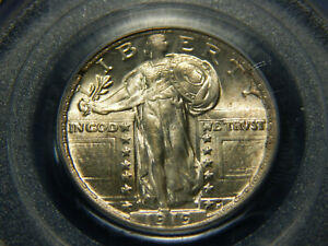 1919 25C STANDING LIBERTY QUARTER MS 63 PCGS GREAT COIN