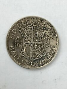 1946 BRITISH HALF CROWN