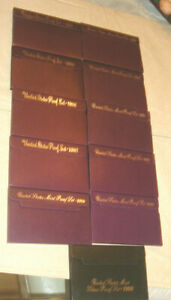 Click now to see the BUY IT NOW Price! UNITED STATES  PROOF SET 1984  1985 1986 1987 1988 1989 1990 1991 1992 1993