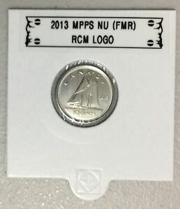 CANADA 2013 NEW 10 CENTS  BU DIRECTLY FROM MINT ROLL