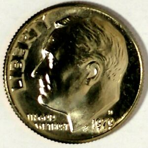 1979 D Roosevelt Dime Photos, Mintage, Specifications