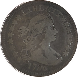 Click now to see the BUY IT NOW Price! 1796 DRAPED BUST QUARTER PCGS F12