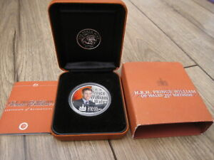Click now to see the BUY IT NOW Price! 2003 PERTH MINT 1OZ SILVER COLOURED PRINCE WILLIAM 21ST BIRTHDAY COIN. BOX & COA