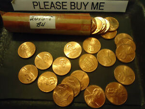 2013 P ROLL OF LINCOLN CENTS          C/S & H