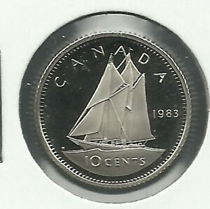 1983 10 CENTS PROOF COIN.