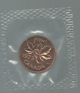 1973 1 CENT SEALED BRILLIANT UNCIRCULATED PL PROOF LIKE