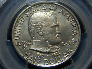 1936 50C GRANT WITH STAR COMMEMORATIVE HALF DOLLAR MS 63 PCGS  COIN