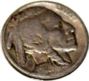 1924 P 5C BUFFALO NICKEL 17RR2309 2 ONLY 50 CENTS FOR SHIPPING