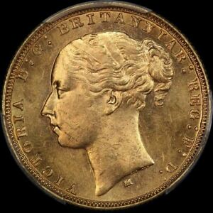 Click now to see the BUY IT NOW Price! 1880 MELBOURNE YOUNG HEAD SOVEREIGN CHOICE UNC  PCGS MS63