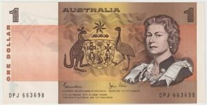 1982 $1 NOTE JOHNSTON/STONE R78 UNCIRCULATED