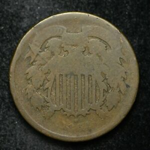 1864 TWO CENT PIECE LOW GRADE  BB3121