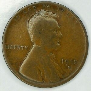 1912 D 1C LINCOLN WHEAT CENT 19URH0813 ONLY 50 CENTS FOR SHIPPING
