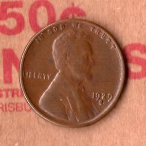 1929 S  PENNY   CIRCULATED   TOTAL PRODUCED: 50 148 000    29S0922