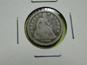 2  SEATED LIBERTY DIMES 1858 FINE AND 1859 AG GOOD DETAILS CLEARANCE