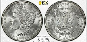 Click now to see the BUY IT NOW Price! 1900 O/CC $1 MORGAN DOLLAR PCGS & CAC MS 66   BLAST WHITE