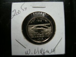 2005 S WEST VIRGINIA STATE QUARTER NICE COIN BID NOW
