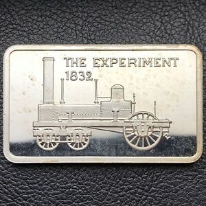 1832 THE EXPERIMENT 1 OZ .999 FINE SILVER ART BAR ONLY 5 000 MINTED MEM  9313