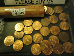 2003 P LINCOLN CENT ROLL               >> S&H   C/S <<