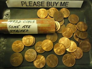 1997 D LINCOLN CENT ROLL               >> S&H   C/S <<