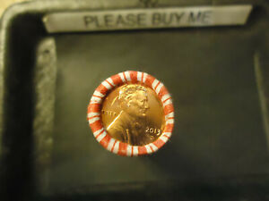 2013 D LINCOLN CENT ROLL     BANK SEALED            >> S&H   C/S <<
