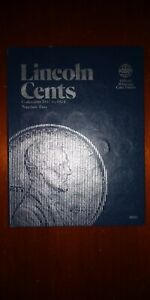 LINCOLN CENTS COLLECTION 1941 1974 NUMBER TWO