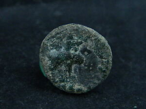 ANCIENT COPPER COIN BACTRIAN 100 BC SG6146