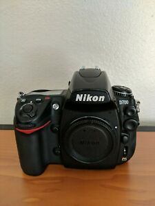 NIKON D D700 12.1MP DIGITAL SLR CAMERA   BLACK  BODY ONLY