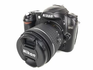 NIKON D50 DSLR CAMERA W/ 18 55MM LENS AND EXTRA BATTERY