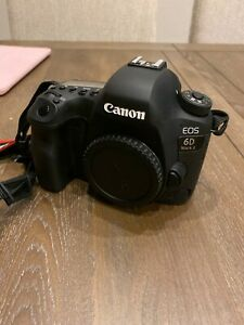 CANON EOS 6D MARK II 26.2MP DIGITAL SLR CAMERA WITH CANON 50MM AND BATTERY GRIP