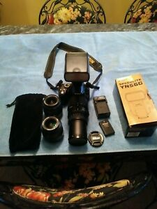 NIKON D D3000 10.2MP DIGITAL SLR CAMERA   BLACK