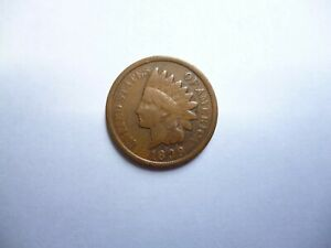 1899 INDIAN HEAD CENT PENNY OPEN NINE   POP 1? LY  ERROR COIN